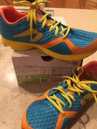 pair of blue-and-yellow Nike running shoes Mesa, 85208
