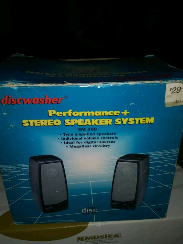 Disk washer amped speakers.. battery powered 6179e01b-ee3e-49a2-b5bb-f155a658c80e
