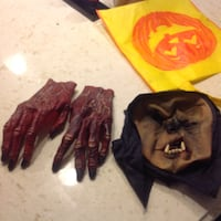 Halloween gloves and face mask with bag  Hamilton, L9H