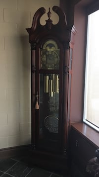 Transitional grand father pendulum clock Valued at $5000.00 Toronto, M9V