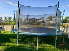 TRAMPOLINE 16FT ENCLOSURE