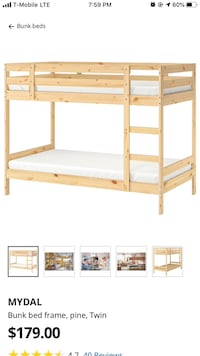 IKEA Bunk bed frame ONLY