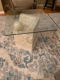 Coffee Table with End Table (Glass Tops) Snoqualmie, 98065