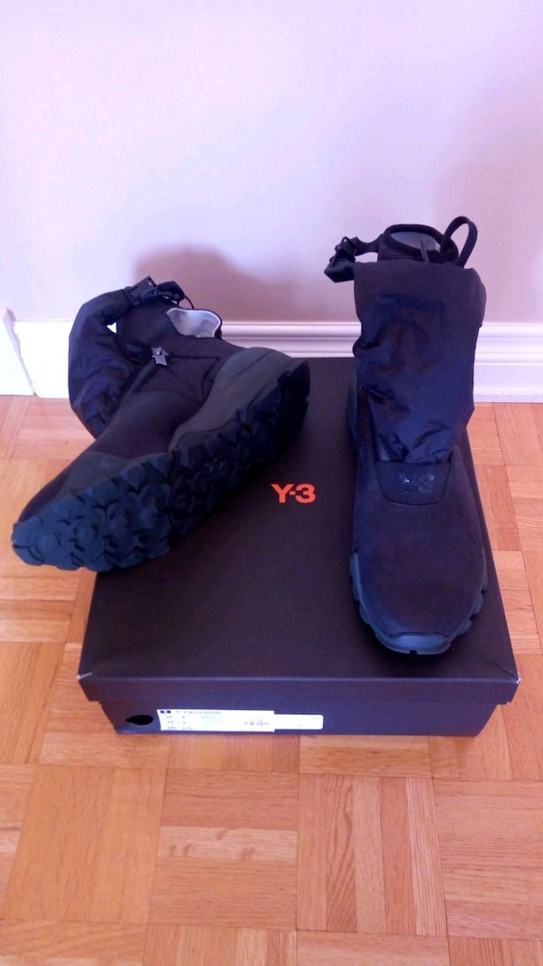 c0dd8715914d Used Y3 RYO HIGH ADIDAS SNEAKER BOOTS MEN SIZE 10 Y-3 for sale in Kirkland  - letgo