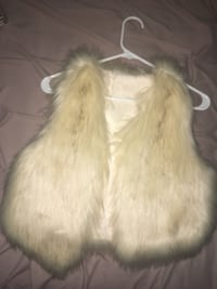 Faux fur vest. Soft to the touch, fits all sizes.  Toronto, M4M 2V5