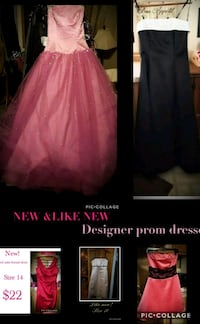NEW & LIKE NEW prom gowns Erie, 16506
