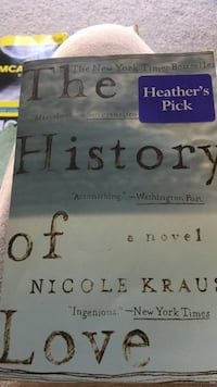 The History of Love by Nicole Kraus book
