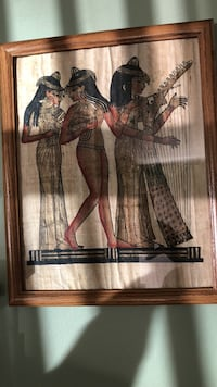 Three woman playing music with brown wooden frame Elizabeth City, 27909