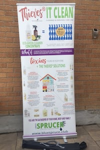 Young living Advertising stands Vaughan, L4K 2B8