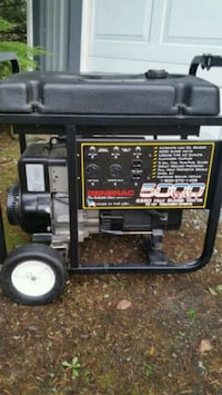 black and red portable generator Camano Island, 98282