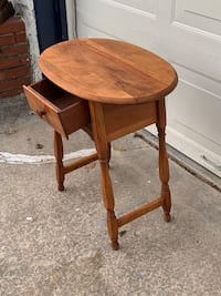 Solid Maple End Table
