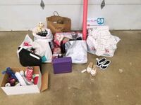 Free items clothes, crafts ,furnishings