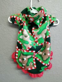 Doggy christmas fleece outfit Cape Coral, 33904