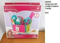 NEW!! AMERICAN GIRLS CRAFTS CREATIVE CADDY Fort Lauderdale, 33334