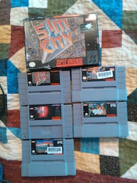 SNES games for Sale LONDON