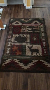 brown, red, and black area rug Midlothian, 23112