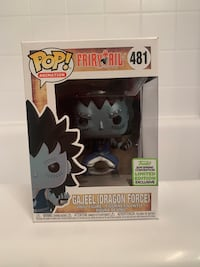 GAJEEL (DRAGON FORCE) ECCC EXCLUSIVE FUNKO POP Annandale, 22003