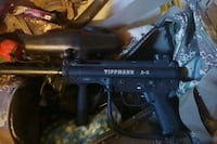 Tipman A5 Paintball Gun with tank and hopper