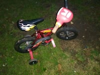 red and black trike with training wheels Shiremanstown, 17011