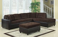 503013 Henri Reversible Sectional Sofa by Coaster - $375 (MISSOURI CITY) Missouri City