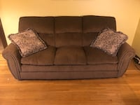 3-piece Sofa set: sofa, loveseat & recliner by Ashley, great shape!