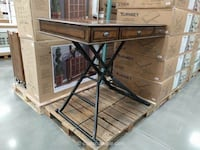 New in box sit and stand desk powered with outlets San Antonio, 78238