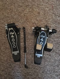 Double bass kick pedal (DW 4000) 482 km