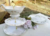 3 big tier cake stand includes the bowl Rockville, 20852
