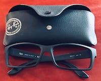 Ray Ban Rubberized Frames and Hard Case Carmichael, 95608