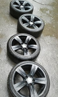 "18"" bmw scattered rims Toronto, M8Y"
