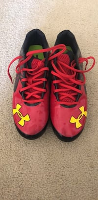 Under Armour Football cleats, used  minimally
