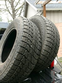For sale 5 used 265/70 R17  Woodburn, 97071