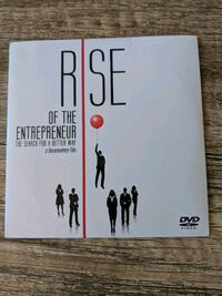 Rise of the Entrepreneur DVD Mississauga, L5B