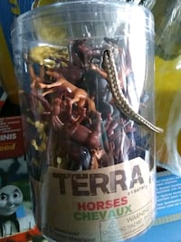 Brand new container of horses toys by terra by battat Toronto, M4C 4X6