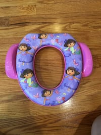 Dora soft toilet / potty seat - new condition Rutherford, 07070