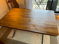 Dining table (wood, from World Market) San Francisco, 94132