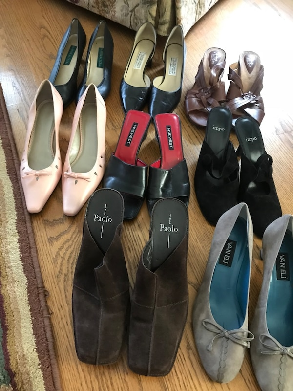 Size 9 shoe lot