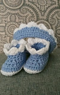 Baby Boy Booties and Headband Clovis, 88101