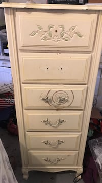 white wooden 5-drawer dresser Simi Valley, 93065