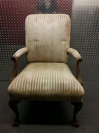 Vintage Clawfooted Chair Culver City