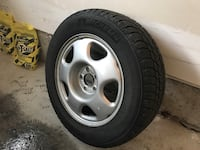 "Great condition Michelin 17"" winter tires set with wheels"
