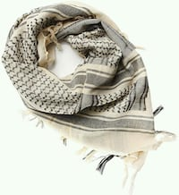Soldier Arab scarf wrap