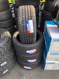 225/40R18 SET OF 4 TIRES ON SALE WE CARRY ALL MAJOR BRANDS AND SIZE  Concord, 94518