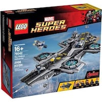 LEGO The SHIELD Hellicarrier