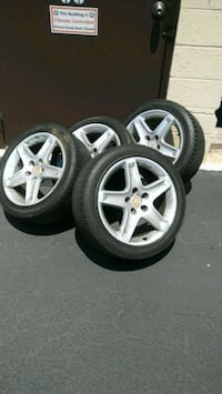 17 in 04 Acura TL rims and tires. Chesapeake, 23320