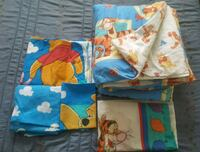 EEUC Vintage Winnie the Pooh twin bed set Coquitlam, V3J 3Z9