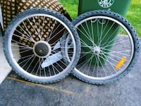 20 iinch bicycle wheels front&back Hamilton, L0R 2H1