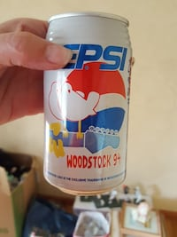 Pepsi Woodstock 94 can South Bend, 46637