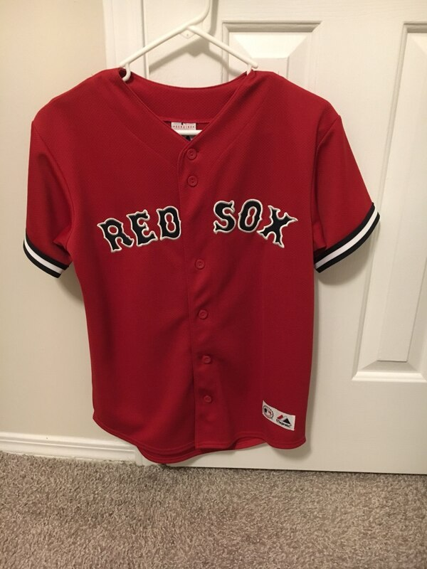 hot sale online a90f6 2e66c Boston Red Sox Jersey