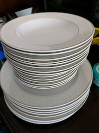 Dinner and salad plates and soup bowls $30 Toronto, M8Y 1W6